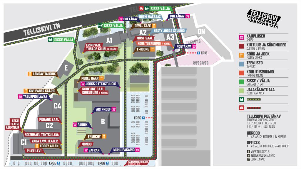 Telliskivi Loomelinnak | Creative City plan