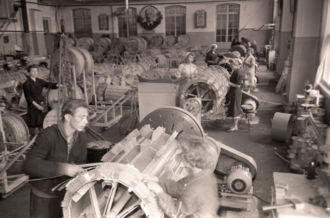 Telliskivi Loomelinnaku alal asus vanasti M. I. Kalinini nimeline tehas.