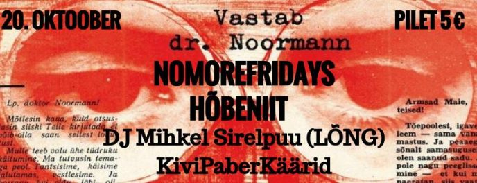 hõbeniit, no more fridays